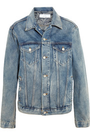 + Anja Rubik Nado oversized denim jacket