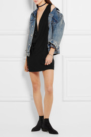IRO + Anja Rubik Nado oversized denim jacket