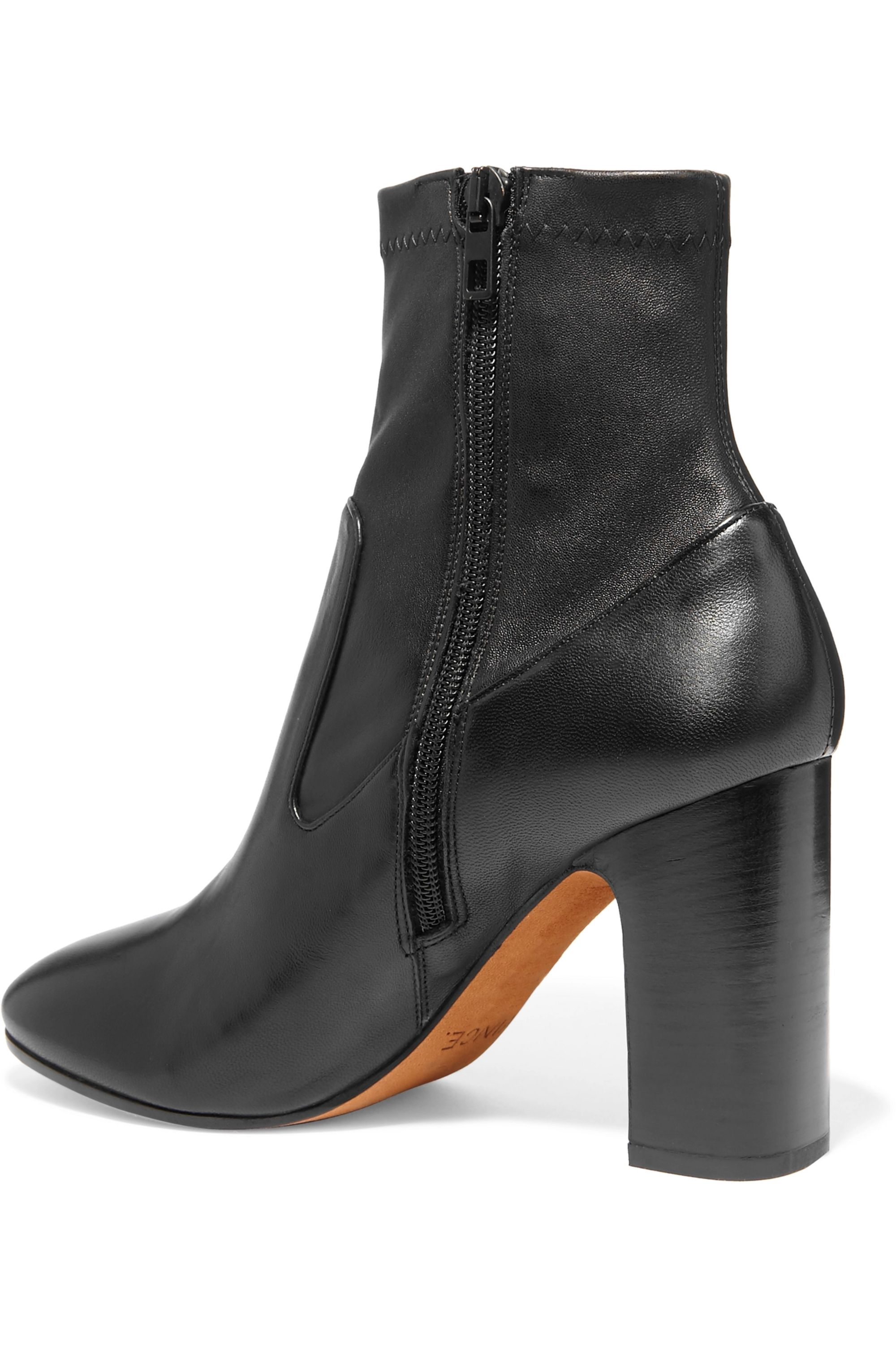 Vince Calist stretch-leather ankle boots