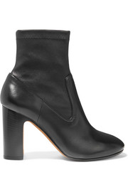 Calist stretch-leather ankle boots