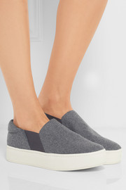 Warren felt slip-on sneakers