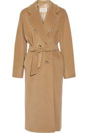 Madame wool and cashmere-blend coat