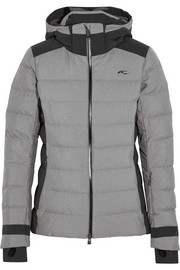 Kjus Snowscape quilted down ski jacket