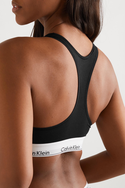 Calvin Klein Underwear Modern Cotton Soft-BH aus einer Baumwollmischung mit Stretch-Anteil