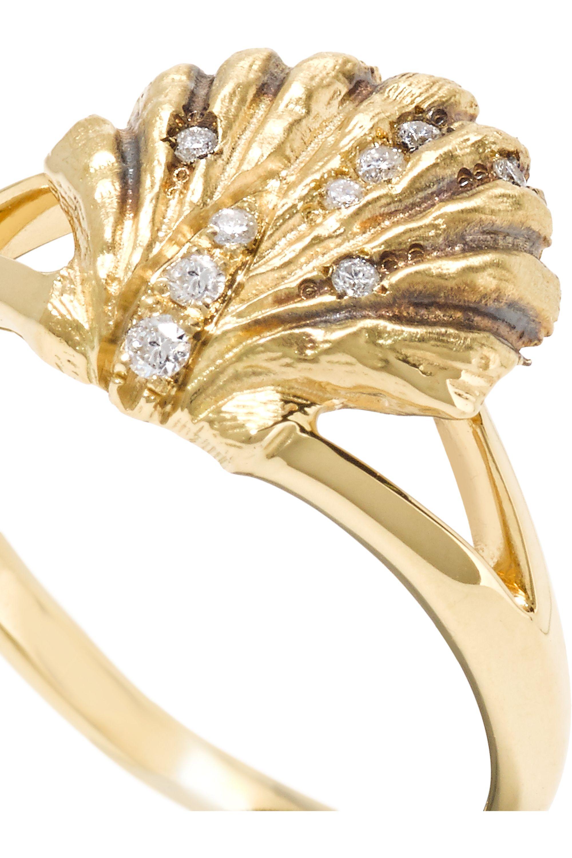 Venyx Lady V 18-karat gold diamond ring