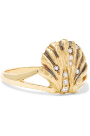 Lady V 18-karat gold diamond ring