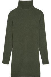 Oscar cashmere turtleneck dress
