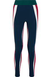 Kihi paneled stretch-jersey leggings