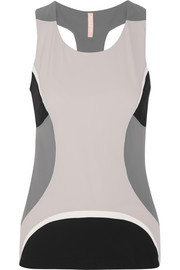 Moku color-block stretch-jersey top
