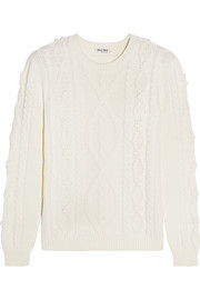 Miu Miu Cable-knit wool sweater