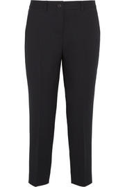 Miu Miu Cropped stretch-wool tapered pants