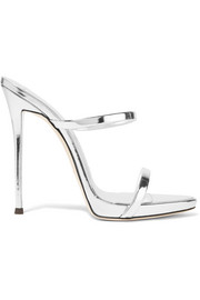 Darsey metallic leather sandals