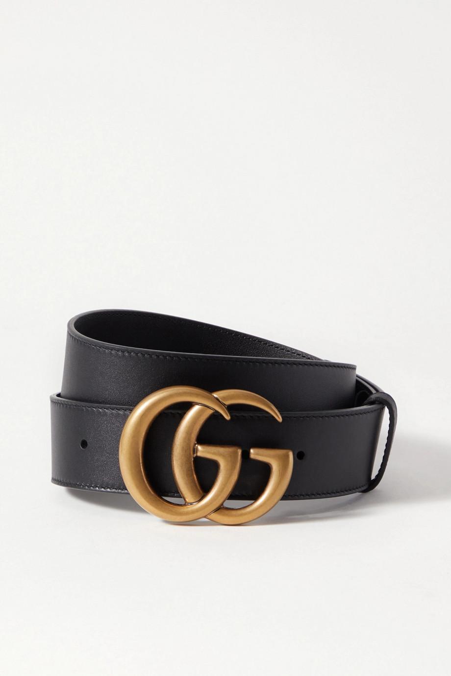 Gucci Leather Belt, Size: 65