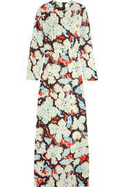 MSGM Printed twill gown