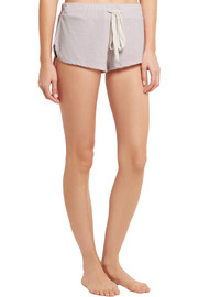 Eberjey Heather jersey pajama shorts