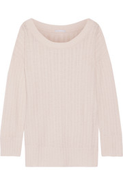 Eberjey Elsa cable-knit pajama top