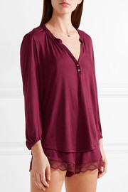 Georgina jersey pajama top