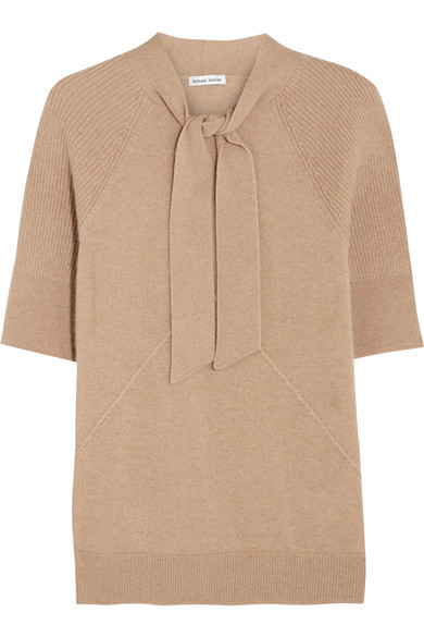 Tomas Maier - Pussy-bow Cashmere Sweater - Beige