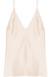 Kenmore silk-charmeuse camisole