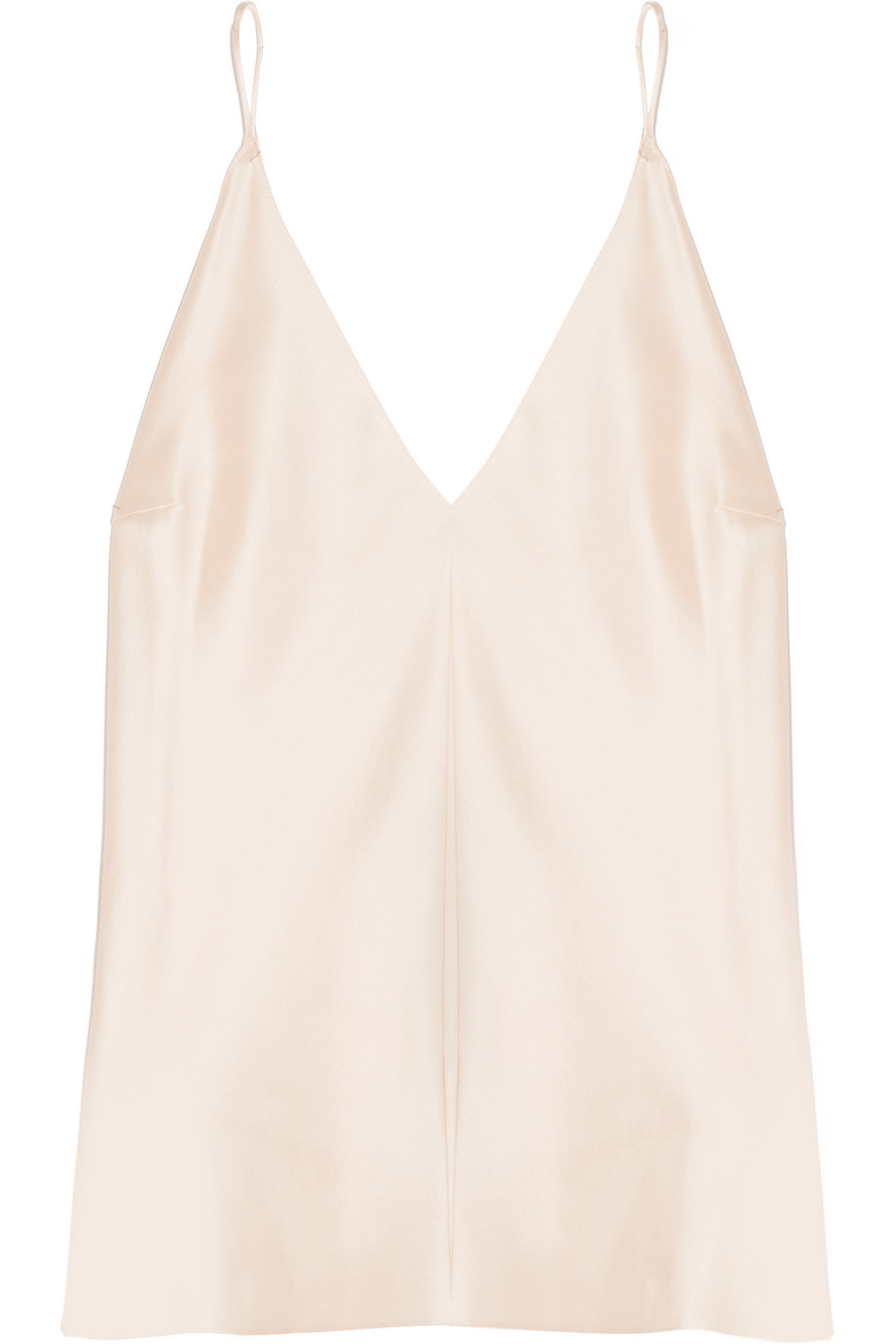 Kenmore Silk-Charmeuse Camisole, Size: 0
