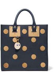 Albion Square embellished leather tote