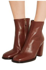 Tibi Rachel leather ankle boots
