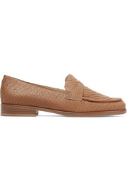 New Annie python loafers