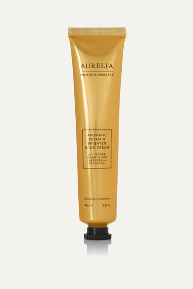 Aurelia Probiotic Skincare - Aromatic Repair & Brighten Hand Cream, 75ml - Clear