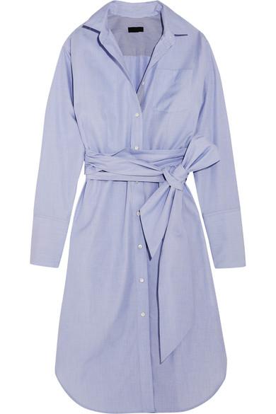J.Crew - + Thomas Mason Sybil Cotton Dress - Blue