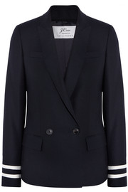 Comero striped wool-piqué blazer