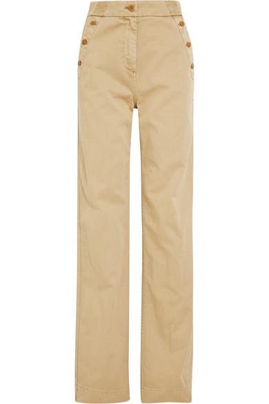 J.Crew - Sailor Cotton-twill Wide-leg Pants - Beige