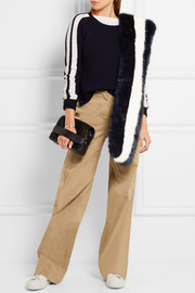 J.Crew Sailor cotton-twill wide-leg pants
