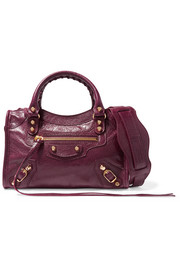 Classic City mini leather shoulder bag