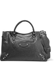 Balenciaga Giant 12 City textured-leather tote