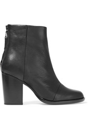 Ashby leather ankle boots