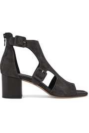 Rag & bone Matteo cutout suede sandals
