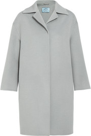 Prada Wool, angora and cashgora-blend coat