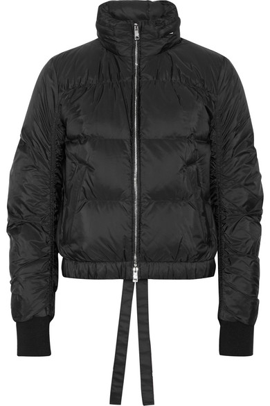 Prada. Quilted shell down jacket