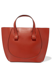 Victoria Beckham Tulip small leather tote