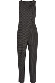 Arko pinstriped twill jumpsuit