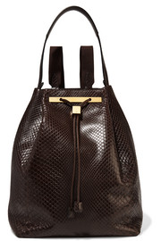 The Row Python backpack