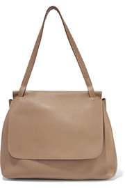 The Row Sidekick textured-leather shoulder bag