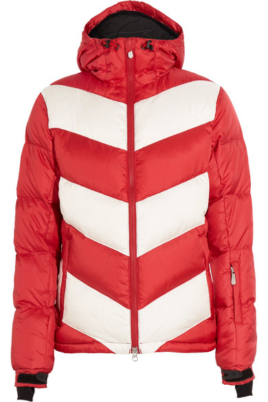Perfect Moment - Super Day Quilted Down Ski Jacket - Red