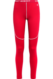Stretch-jersey ski leggings