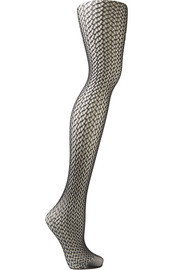 Wolford Nele geometric net tights