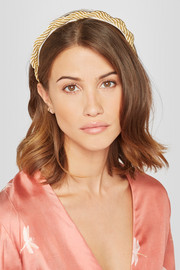 Charlize satin rope headband