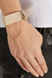Eddie Borgo Safety Chain gold-plated bracelet