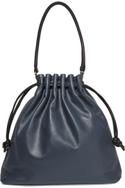 Grand Henri Maison textured-leather shoulder bag