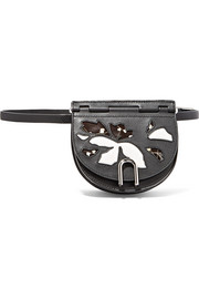3.1 Phillip Lim Hana convertible patent and matte-leather belt bag