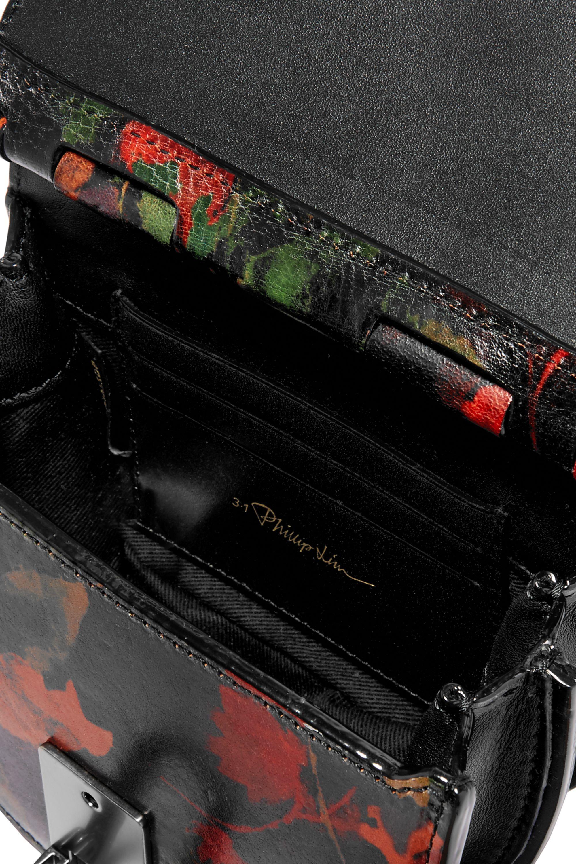 3.1 Phillip Lim Hana printed textured-leather belt bag